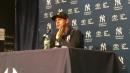 Yankees manager Aaron Boone provides updates on Masahiro Tanaka, James Paxton
