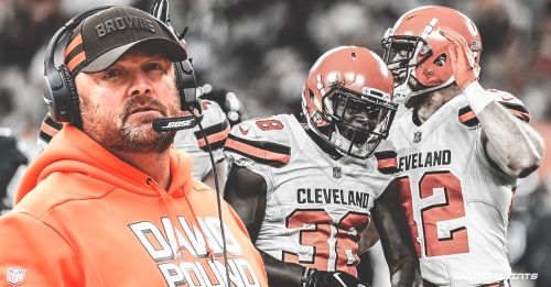 Browns coach Freddie Kitchens says Cleveland didn't 'accomplish anything' last season