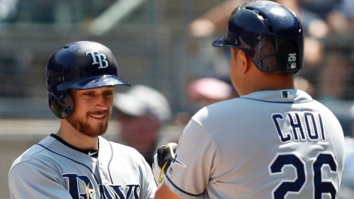 Brandon Lowe provides a high on a difficult day for the Rays