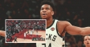 Giannis Antetokounmpo pulls off sick Euro-step over Kyle Lowry, Marc Gasol