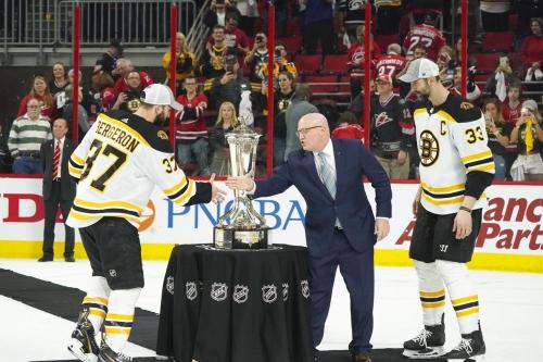 Playoffs Round Up: Bruins in four