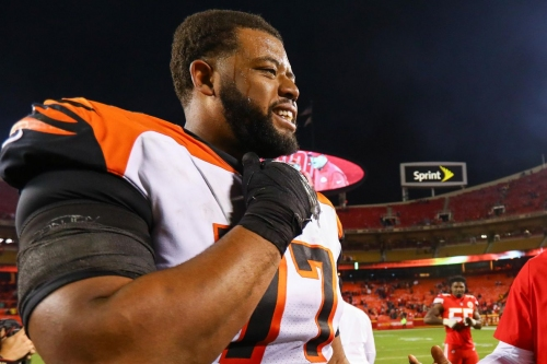 Cordy Glenn moving to LG; Jonah Williams is now the Bengals' LT
