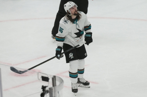 Sharks have faced, and avoided, elimination before in playoffs