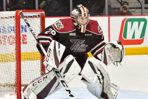 2019 Draft profile: Hunter Jones may be the first CHL goaltender selected
