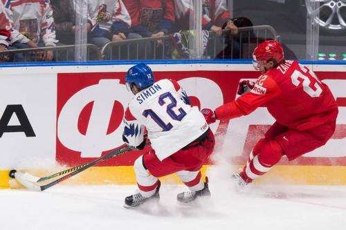 Dominik Simon has been a scoring force for the Czech Republic in 2019 IIHF Worlds