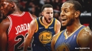Warriors' Andre Iguodala thinks Stephen Curry is the 2nd-best player ever behind only Michael Jordan