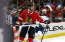 What is Artem Anisimov's future with Blackhawks?