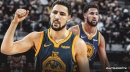 Warriors' Klay Thompson on splitting series in regular season vs. Blazers then sweeping in playoffs: 'Key word is regular'
