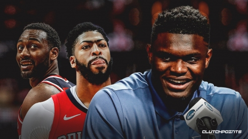 Zion Williamson says Anthony Davis, John Wall turning him down for autograph shaped his approach
