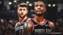 Blazers' Damian Lillard says series vs. Warriors would've been different if Jusuf Nurkic played