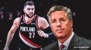 Blazers GM Neil Olshey says Jusuf Nurkic is in 'great spirits' and 'making great progress' from leg injury
