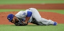 Dodgers beat Rays but lose reliever Pedro Baez to leg injury