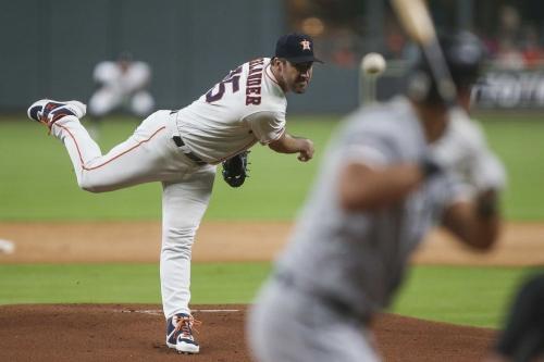 Verlander sullies White Sox, Astros stroll to 5-1 triumph