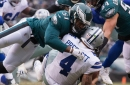 Former Eagles pass rusher won't be able to play against his old team this season