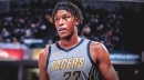 Pacers' Myles Turner reacts to being snubbed for All-Defensive team