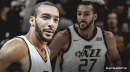 Jazz's Rudy Gobert reacts to NBA All-Defensive First Team inclusion for 3rd straight year