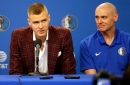Kristaps Porzingis is back in Dallas, hand is OK, Mavericks satisfied that bar fight a 'case of being in wrong place, wrong time'