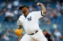 New York Yankees' CC Sabathia expects to miss his next start due to ailing knee