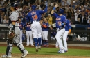 Rajai Davis' day goes from normal to weird, and ends with a homer in NY Mets' win