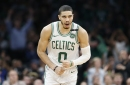 Jayson Tatum continued his steady rise in sophomore season