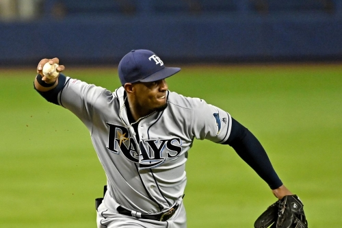 Rays place Diaz on the IL, recall Yarbrough