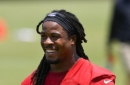 Falcons' Freeman feeling strong, says football is fun again