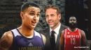Lakers' Kyle Kuzma calls out Max Kellerman for asinine James Harden take