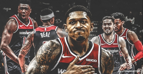 Wizards' Bradley Beal is 4th player in NBA history to record at least 2,000 points, 400 rebounds, 400 assists in a season and not earn All-NBA honors