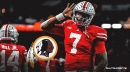 Dwayne Haskins acting as a leader for Redskins off the field