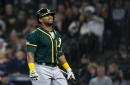 Red-hot A's will be without slugger Khris Davis