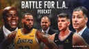 Battle For L.A. Podcast Episode 6 – Lakers introduce Frank Vogel, Rob Pelinka's interrogation, and Magic Johnson goes off