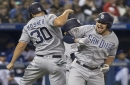 Renfroe saves day with another late homer as Padres beat Blue Jays