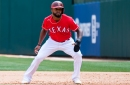 'It definitely sucks': Delino DeShields acknowledged surprise over the Rangers decision to send him down