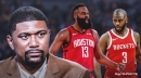 Jalen Rose reveals inside info on Rockets' Chris Paul, James Harden spat