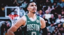 Celtics forward Jayson Tatum's trade stock 'took a hit' this season