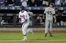 NY Mets catchers do it all: Tomas Nido hits walk-off HR in 13th, Wilson Ramos has 4 RBI