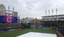 Rays at Indians lineups on a soggy Sunday