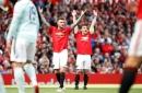 Gary Neville makes David Beckham joke after Manchester United Treble reunion game