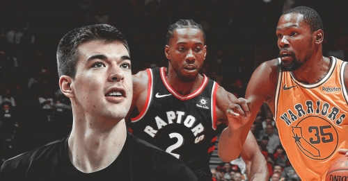 Ivica Zubac believes Raptors have a 'chance' vs. Warriors in NBA Finals