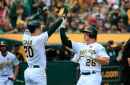 Perfect 10: A's club three more homers as win streak reaches double-digits