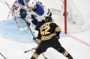 RECAP: Boston Bruins stave off a late push from St. Louis, defeat Blues 4-2 in Game 1 of Stanley Cup Finals