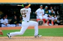 What stomach bug? A's outfielder carried his own impressive streak into Tuesday