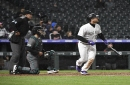 Chris Iannetta's two-run homer leads Rockies past Diamondbacks in freezing rain