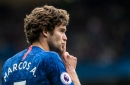 Chelsea's Marcos Alonso aims dig at Arsenal ahead of Europa League final in Baku
