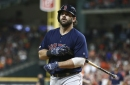 Mitch Moreland placed on the 10-day injured list