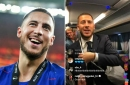 Eden Hazard tells off Antonio Rudiger for teasing Conor Gallagher after Europa League win