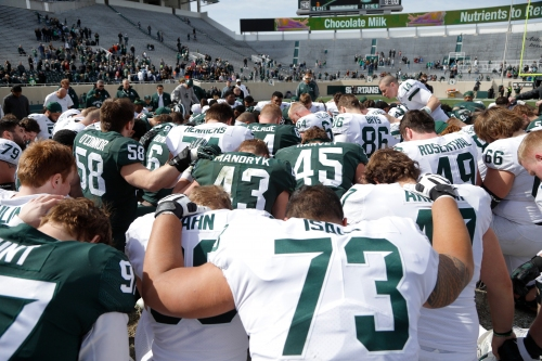 Michigan State football gets night games vs. Tulsa in opener, at Ohio State