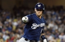Yasmani Grandal is having a career year with the Milwaukee Brewers