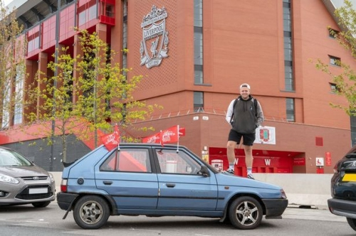 YouTube star buys £40 car to get to Liverpool FC v Tottenham Hotspur Champions League final in Madrid