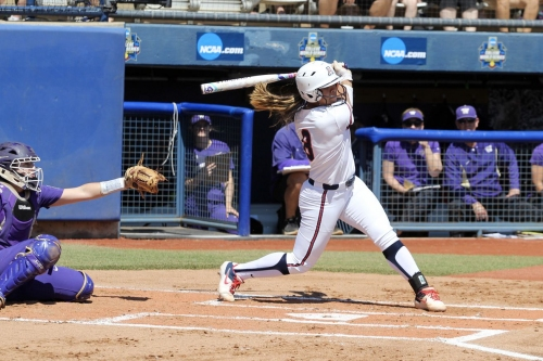 Dejah Mulipola's homer lifts Arizona softball past Washington in extras to open Women's College World Series